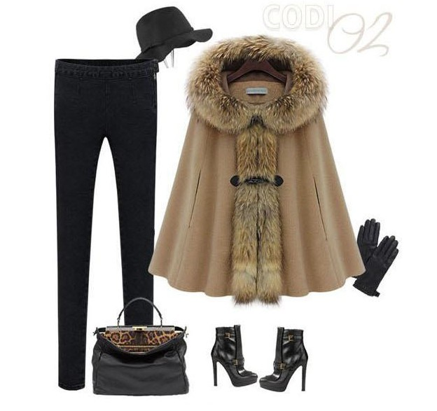 Fur Cape Coat